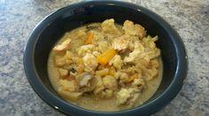 My Paleo CrockPot: Thai Chicken Green Curry