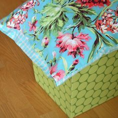 "Sew a pillowcase with a ""pocket"" to hide the end of your pillow and keep it in the case. Later posts show how to add a crochet edging."