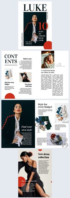 Looking for inspiration for a fashion magazine layout? Try this professionally designed fashion magazine template for influencers and fashion lovers! Magazine Page Design, Editorial Design Magazine, Magazine Design Inspiration, Editorial Layout, Editorial Fashion, Fashion Magazine Layouts, Magazine Page Layouts, Fashion Layouts, Gianni Versace
