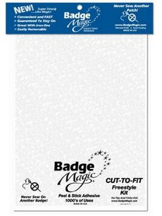 Badge Magic Cut to Fit Freestyle Patch Adhesive Kit Rothco http://smile.amazon.com/dp/B0062DLDH8/ref=cm_sw_r_pi_dp_gplfub116ECKF