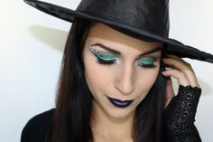 Witch Makeup by Cynthia Dulude (Tutorial on Youtube)