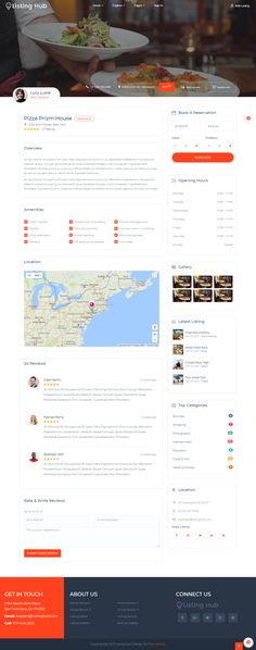 Listing hub directory listings html template template business directory listings template build on boostrap 37 with more features and developer friendly flashek Image collections