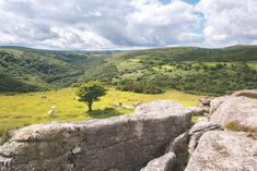 View from Bench Tor, Dartmoor ©Alamy Dartmoor National Park, Hills And Valleys, Go Outdoors, Devon, Golf Courses, National Parks, Hiking, Walks, Bench