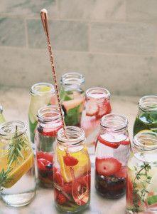 Infusiones frutales para pasar la sed y el calor este verano