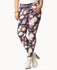 Sweet As A Rose Skinny Jeans | FOREVER21 PLUS - 2050068862