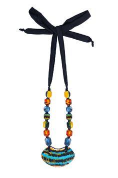 plafonsito blue necklace
