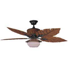 Information Online Concord Fans 52 Inch Fernleaf Breeze Damp Location Ceiling Fan - Rustic Iron Ceiling, Joss And Main, Ceiling Fan With Light, Rustic Irons, Ceiling Fan Blades, Light, Bay Isle Home, Dark Blade