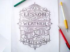 Mateusz Witczak y su habilidad para crear letterings épicos | Blog de diseño gráfico y creatividad.