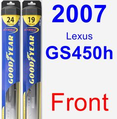 2006 2013 chevy impala halo led black projector headlight 2006 2007 front wiper blade pack for 2007 lexus gs450h hybrid fandeluxe Choice Image