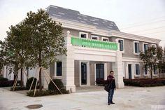 Cultura   ChiadoNews: Empresa chinesa utiliza impressão 3D para construir casas em tempo recorde