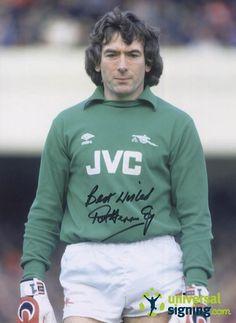 View Pat Jennings Arsenal Hand Signed 16x12 Photo