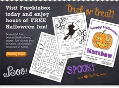 FREE Halloween Personalized Printables for your little ones! - http://www.mommieagain.com/2013/10/free-halloween-personalized-printables.html