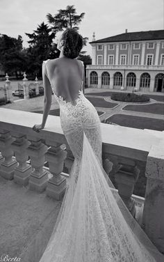 elegant wedding dress by Berta