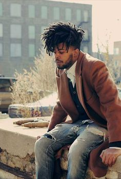 Short Hairstyles Messy Afro for Black Men