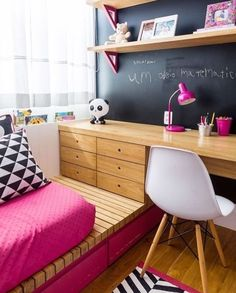 Interior Decoration Planning Like The Pros - Thrifty Home Decor Girl Room, Girls Bedroom, Bedroom Decor, Bedroom Ideas, Male Bedroom, Bedroom Rugs, Small Rooms, New Room, House Design