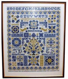 30 Years Embroidery - Cross Stitch Pattern
