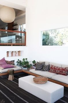 Bright white interiors: