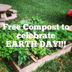 #EarthDay #FREE giveaways here in Old Towne Orange