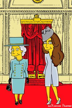 Kate Middleton is Now a 'Simpsons' Character   StyleCaster