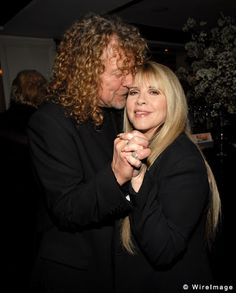 Robert Plant and Stevie Nicks! this is perhaps the greatest picture of all time.