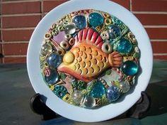 Fish Plate.  http://adivawoman.deviantart.com/art/fish-plate-1-142031734