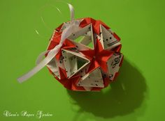 Tutorial for Kusudama Strong Package--a modular by Tomoko Fuse