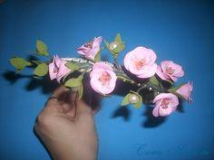 как сделать картину с цветами из фоамирана