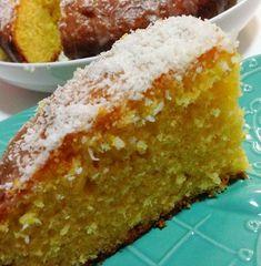 Sponge Cake Recipes, Homemade Cake Recipes, Whole Orange Cake, Orange Cakes, Orange Drizzle Cake, Coconut Recipes, Paleo Recipes, Baking Recipes, Orange Recipes