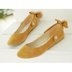 put the bow in back for regular flats or flip in front and make them mary janes! $10.49