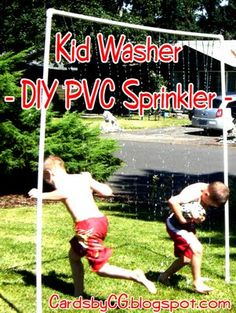 Kid Sprinkler for water day @school!