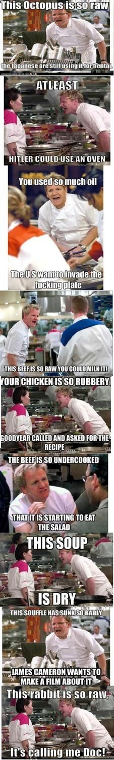 Gordon Ramsey insults