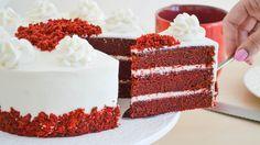 Esta torta Red Velvet es riquísimas y perfecta para esta época del año. Espero que la disfruten
