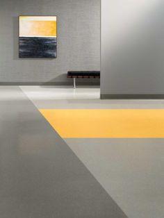 Tarkett Johnsonite Arcade Tonal #rubber #flooring #interiors #NeoCon15