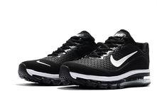Nike Air Max 2017.8 Running Women Men Shoes Black White