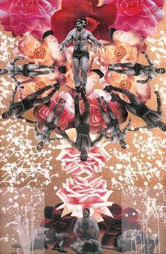 Fereydoun Ave - Rostam in Late Summer - print on canvas -151 x 100 cm - 2009 -