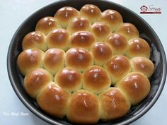 Indian Pav Bhaji Bun / Dinner Rolls