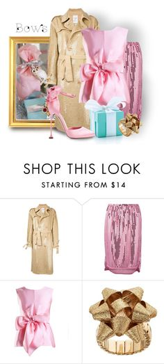 """Wrap It Up!"" by interesting-times ❤ liked on Polyvore featuring Ashish, Comme des Garçons, Yanny London, Tiffany & Co., Miu Miu and bows"