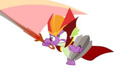 Gauntlet of Fire MLP Episode Announcement Synopsis <--- SPIKE, DID YA' PUT YER NAME IN THE GAUNTLET OF FIYA?