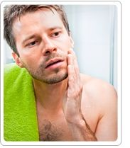 Men's skin care for fall means making a few adjustments, such as...  #mensskincare #fallskincare