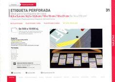 DISTRIPAPER tarjetas perforadas, etiquetas textil, etiquetas de información tecnica, etiquetas para ropa