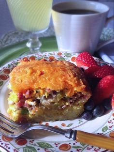Sunday is daylight-saving time, so prepare this Make-Ahead Breakfast Casserole on Saturday night to save you trouble in the morning! www.SoupBowlRecipes.com