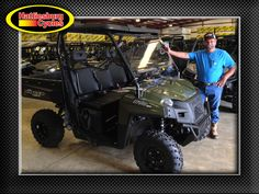Thanks to Randy Barkley from Mt. Olive MS for getting a 2017 Polaris Ranger 570 at Hattiesburg Cycles #polaris #ranger