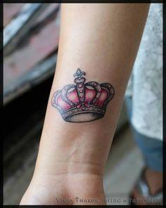 Tatuagem Coroa de Rainha