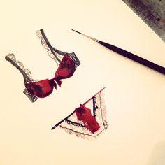 Delicates. Follow me @Jess Pearl Liu Sanchez for wip #illustration #watercolor