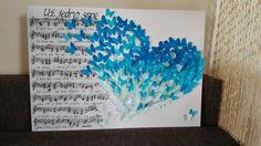 Butterflies in the heart