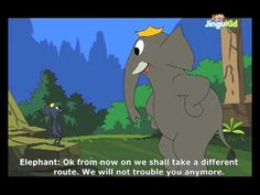 Panchatantra stories for Kids - The Elephants And The Rats - Children Animated Stories