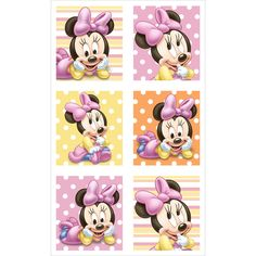 minnie mouse 1st birthday sticker