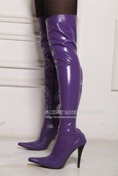 Stiletto Spike Heel Unisex Latex Chap Boots Gummy Stiefels US7 11 | eBay Thigh High Boots, High Heel Boots, Shoes Heels Boots, Over The Knee Boots, Heeled Boots, High Heels, Stylish Boots, Sexy Boots, Cool Boots