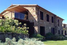Ferienhaus in Spanien mit Terrasse aus Glas und Holz