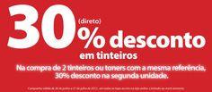 30% Desconto em tinteiros  www.radiopopular.pt/familias/informatica.php#
